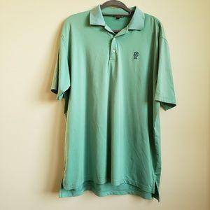 Peter Millar Summer Comfort Polo Hi Low Shirt